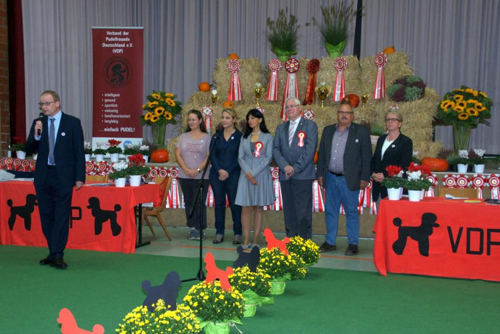 VDP Siegerschau 2015 - Begrüßung