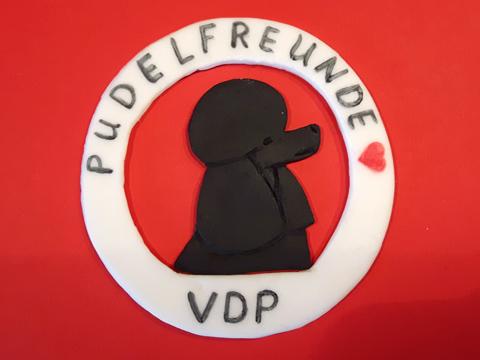 Auch das VDP-Emblem wurde aus Zuckermasse geformt.